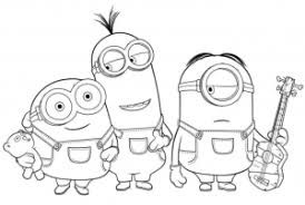 Gorgeous Inspiration Printable Minions Coloring Pages 25 Activity