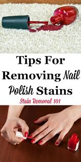 here is a round up of tips for removing nail polish sns from surfaces around your