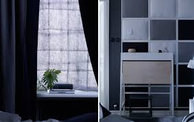 one a soundproofed curtain hung infront of the window