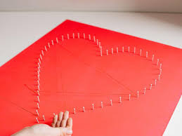 Modern String Art Heart | HGTV