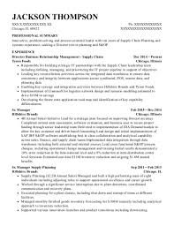 Best Sr Demand Planner Resumes Resumehelp