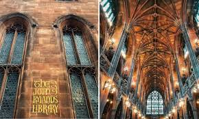 the john rylands library voted the most