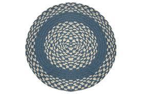 4 round braided rug