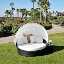 patio daybed  exceptional outdoor relaxation with the maxime woven day bed by caluc