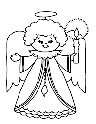 kids free coloring pages for christmas angel   christmas coloring    kids free coloring pages for christmas angel