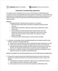 9+ Medical Confidentiality Agreements – Free Downloadable Samples ...