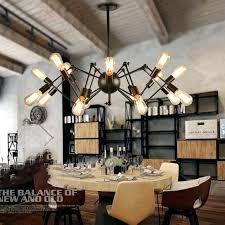 lighting industrial look. Kitchen Industrial Lighting Vintage Pendant Lights Led Modern Iron Bar Suspended Lamp Light Look