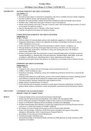 Security Engineer Resume Sample Endpoint Security Engineer Resume Samples Velvet Jobs 10