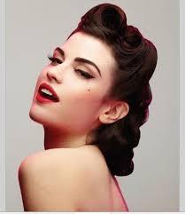 40s style hair best 25 40s hair ideas on 1940s hair 50s hair