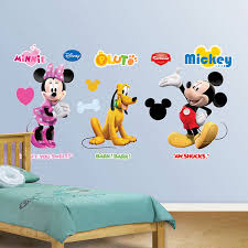 mickey mous stunning mickey mouse clubhouse wall decals