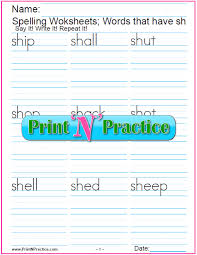 Free, printable phonics worksheets to develop strong language skills. 44 Phonics Worksheets Practice Phonics Words Copywork
