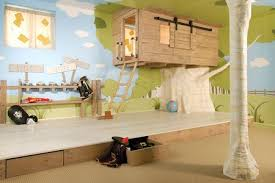 tree house themed kid s room