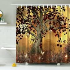nature shower curtains nature themed shower curtains nature print shower curtains