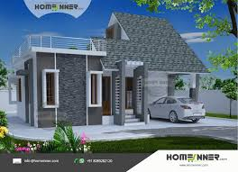 Small Picture and modern 869 sqft 2 Bhk Indian home Design
