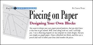 Free Quilt Patterns From Carol Doak & Designing Your Own Paper-Pieced Blocks Adamdwight.com