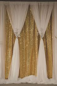 Curtains Wedding Decoration Gold Sequin Curtain Becomes Soft And Romantic When You Create This
