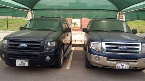 ford president car. the ford expedition given to president john mahama by burkinabe contractor car i