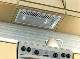 broan undercabinet range hood kitchen insert and vent hoods under cabinet exhaust fan filter installation stainless