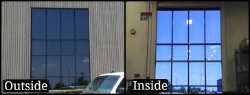 office glass windows. Tinting An Office Window With One Way Mirror Film Glass Windows