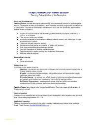 Template For Teacher Resume And Kindergarten Teacher Cover Letter