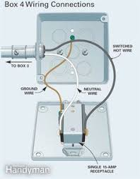 3 prong dryer outlet wiring diagram electrical wiring figure d box 4 wiring connections