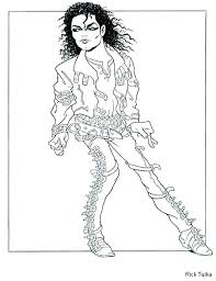 Awesome Michael Jackson Smooth Criminal Coloring Pages And Book