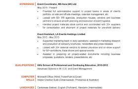 Event Planner Resume Resume Template