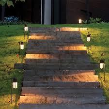 lighting steps. landscape lighting steps u0026 path