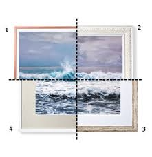 Type of picture frame Ethernet Type Frames For Soft Nature Scene Real Simple How To Choose The Right Type Of Frame