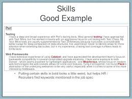 Skills To Put On Resume Magnificent What To Put On A Resume For Skills Nmdnconference Example
