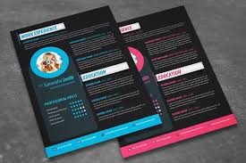 Modern Resume Design Cool Modern Resume Design Resume Templates Creative Market