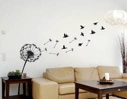 Small Picture Dandelion And Birds Wall Sticker Contemporary Wall Stickers