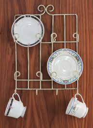 Decorative Cup And Saucer Holders Cup and Saucer Holders Teacup Stands Racks and Hangers 50