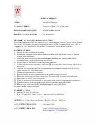 Nurse Manager Resume Examples Caseger Example Plus Career And Of