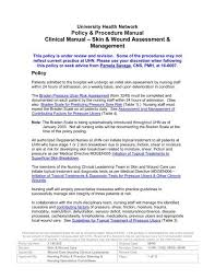 Wound Assessment Chart Template Skin Wound Assessment Management Senior Friendly Hospitals