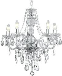black marie therese 5 light chandelier clear acrylic 5 light chandelier decorations for wedding cakes