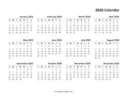 Academic Calendar Cmc 2020 Free Printable Calendar