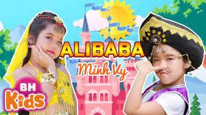 Phim Ca Nhạc Thiếu Nhi ALIBABA - Bé Minh Vy | Nhạc Thiếu Nhi Sôi Động -  YouTube