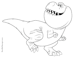 T Rex Coloring Picture T Coloring Page Coloring Page Trend Coloring