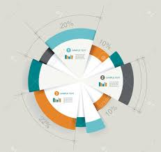 Business Pie Chart For Documents And Reports For Documents Reports