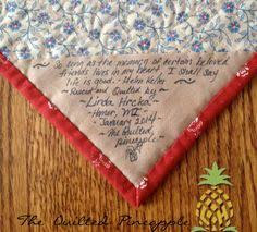 Follow these tips for labeling your quilt, then choose from two ... & Follow these tips for labeling your quilt, then choose from two block ideas  to make your own quilt label.   Sewing   Pinterest   Quilt labels,  Tutorials and ... Adamdwight.com
