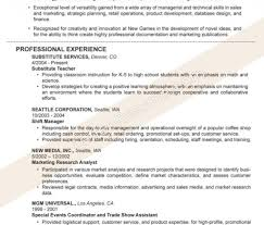 Dance Teacher Resume Dancing Job Description Picture Examples