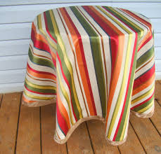 diy round tablecloth