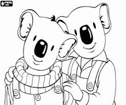 Kleurplaten Koala Broertjes Kleurplaat