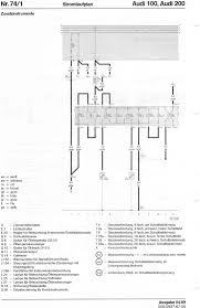 audi 100 200 factory wiring diagrams  at Wiring Diagrams Cell 119 Climate Controlled Seats For Schematic