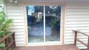 how much does it cost to install a sliding glass patio door