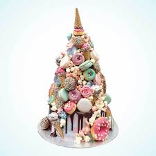 Unicorn Croquembouche Wedding Cake Anges De Sucre