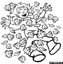 Small Picture Creative Designs Fall Leaf Coloring Pages Pile Of Leaves Coloring
