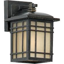 craftsman style outdoor lighting wall sconces allquoizellighting backyard concept