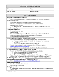 Siop Lesson Plan Templat SIOP Lesson Plan Guidelines 19